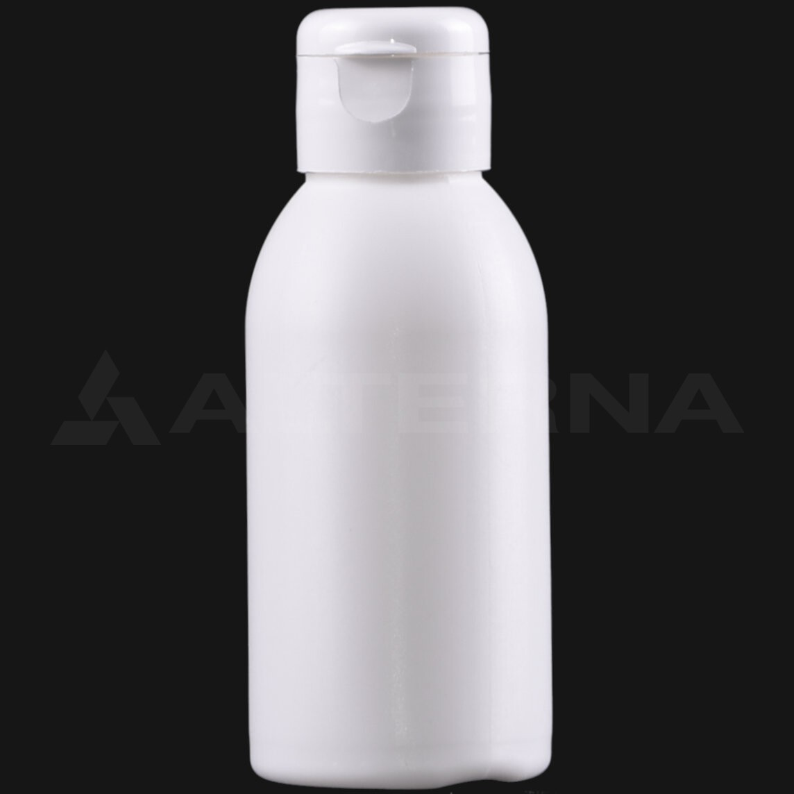 100 ml HDPE Bottle with 24 mm Flip Top Cap