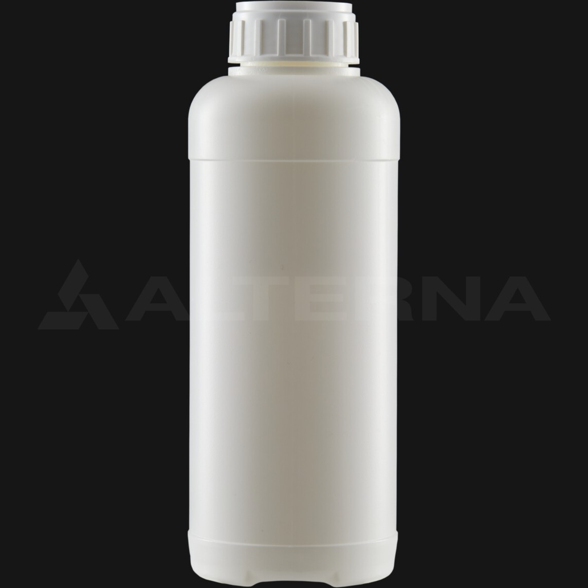 1000 ml HDPE Bottle with 50 mm Alu. Foil Seal Cap