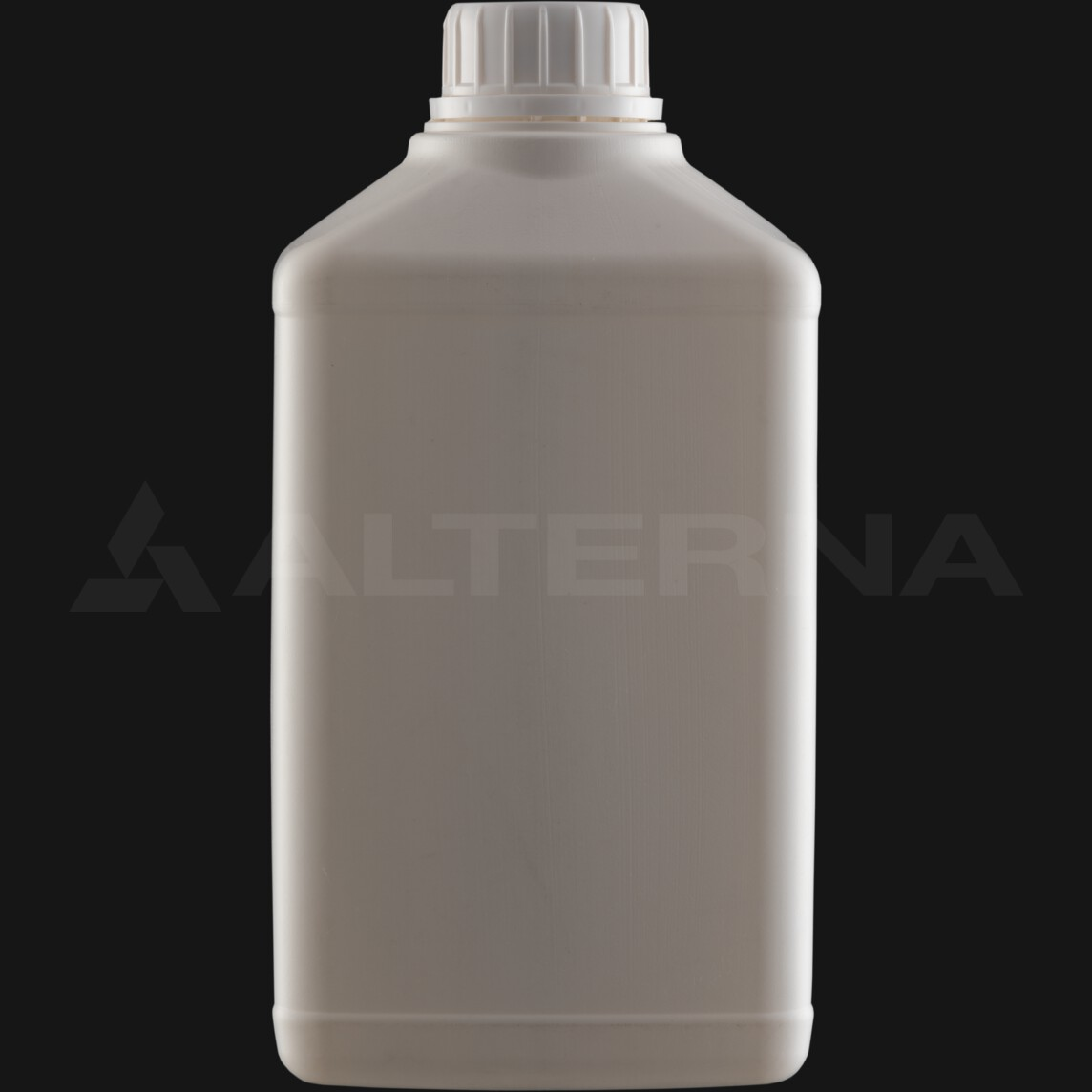 1000 ml HDPE Rectangular Bottle with 38 mm Foam Seal Secure Cap