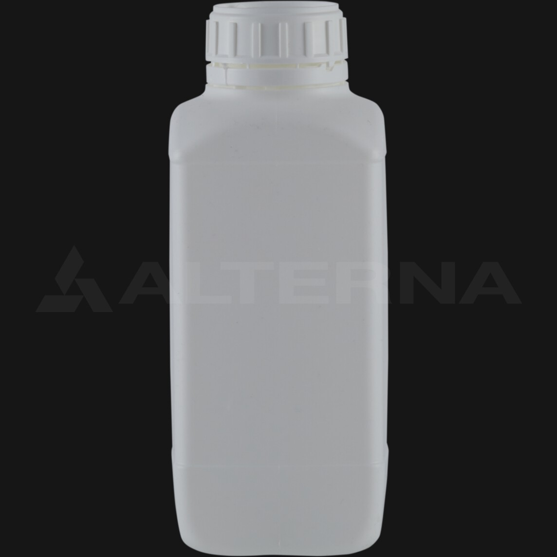 1000 ml HDPE Square Bottle with 50 mm Foam Seal Secure Cap