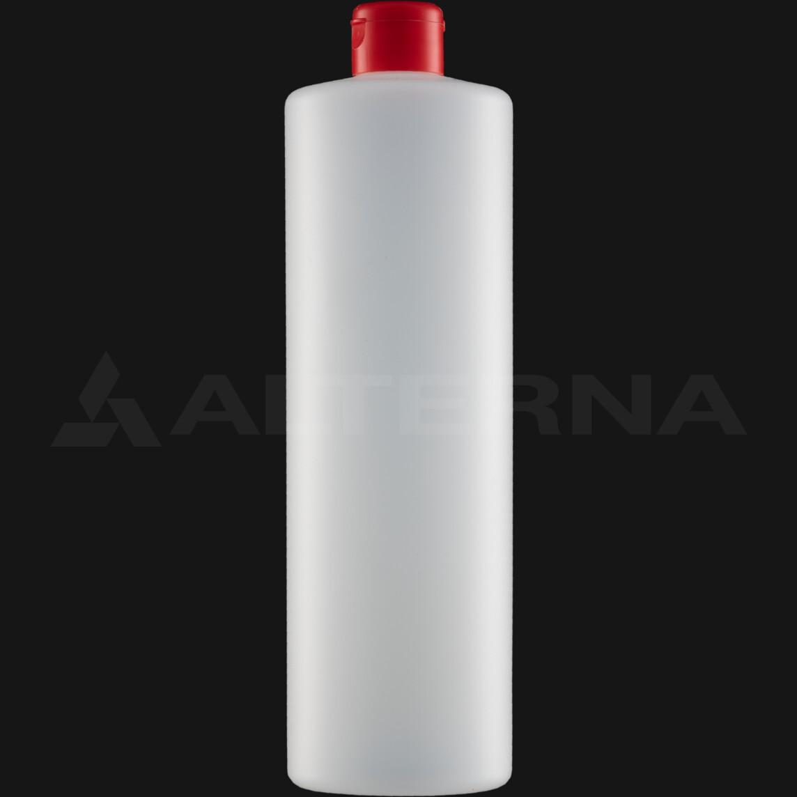 1000 ml HDPE Bottle with 28 mm Flip Top Cap