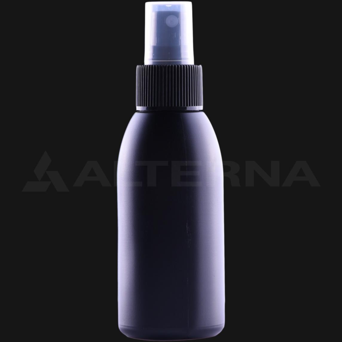 100 ml HDPE Bottle with 24 mm Sprayer