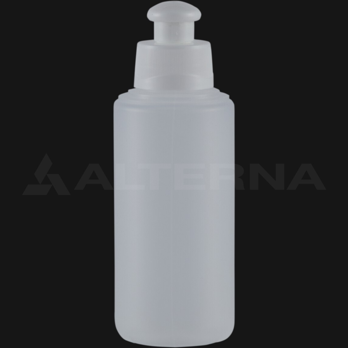 100 ml HDPE Bottle with 28 mm Push Pull Cap