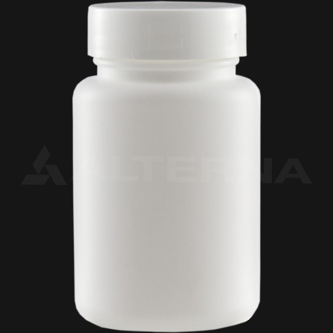100 ml HDPE Pill Bottle with 38 mm Alu. Foil Seal Cap