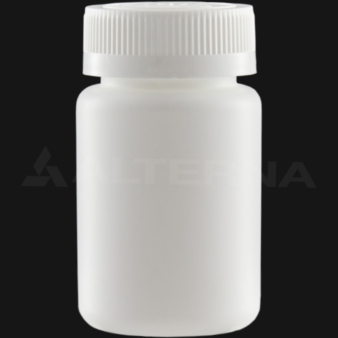 100 ml HDPE Pill Bottle with 38 mm Child Resistant Cap