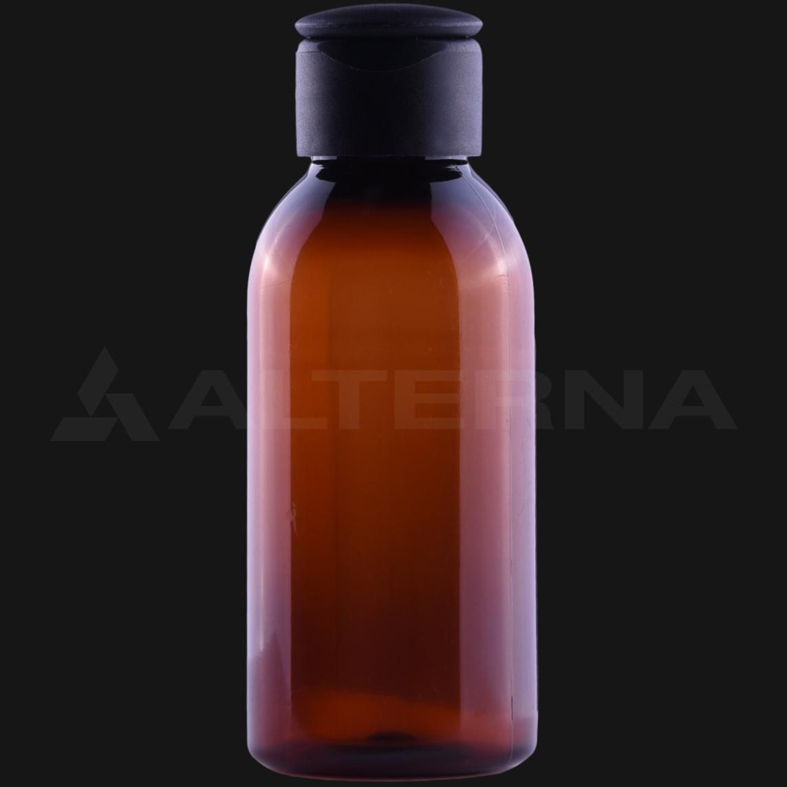 100 ml PET Bottle with 24 mm Flip Top Cap