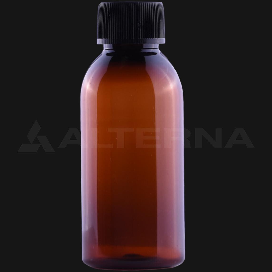100 ml PET Bottle with 24 mm Foam Seal Cap