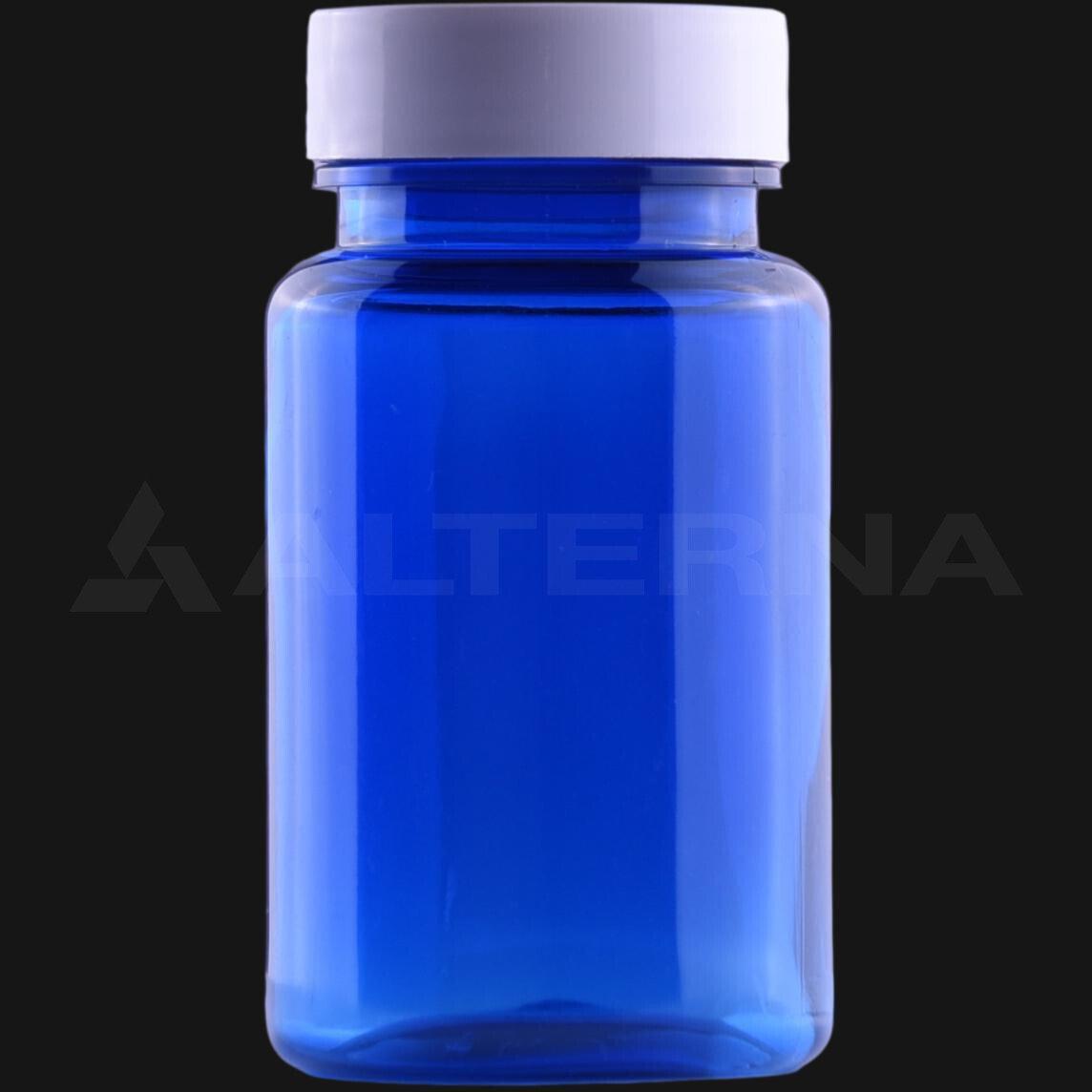 100 ml PET Pill Bottle with 38 mm Alu. Foil Seal Cap