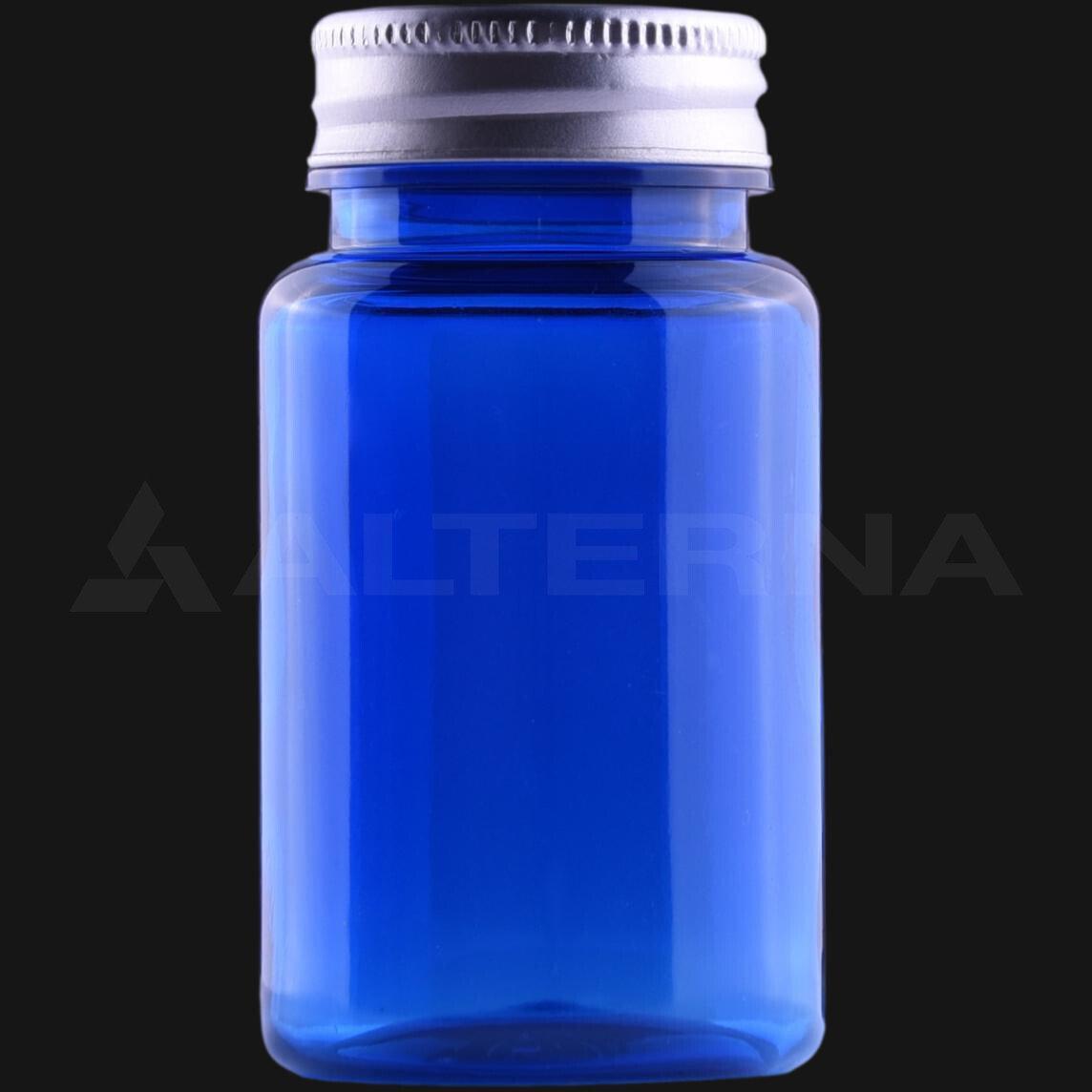 100 ml PET Pill Bottle with 38 mm Aluminum Cap