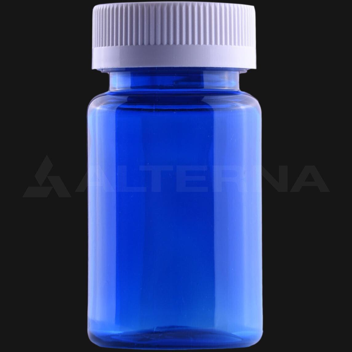 100 ml PET Pill Bottle with 38 mm Child Resistant Cap