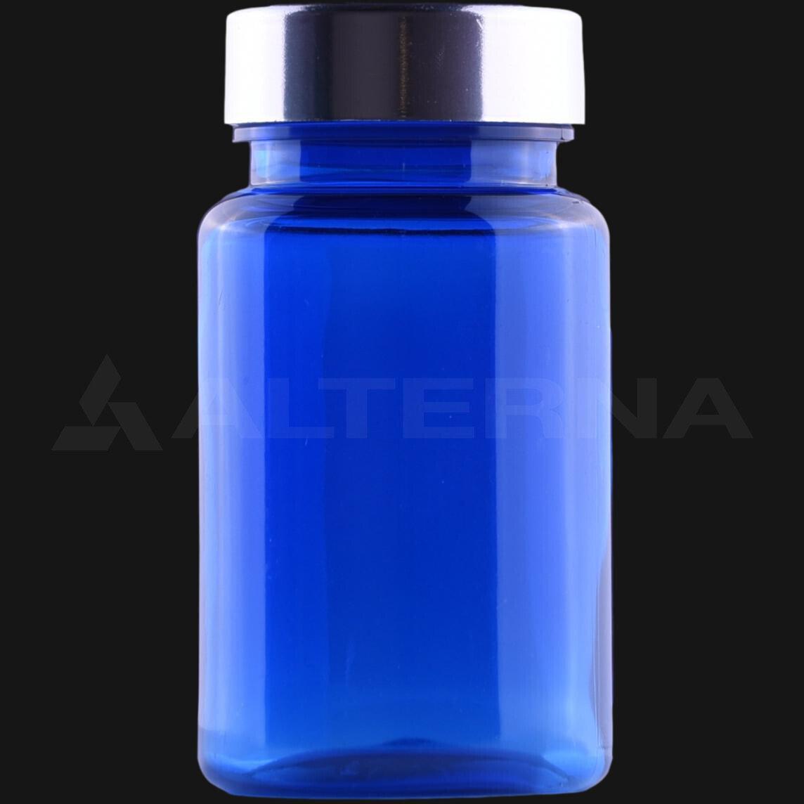 100 ml PET Pill Bottle with 38 mm Metal Cap