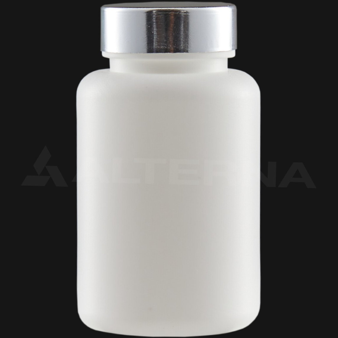 120 ml HDPE Pill Bottle with 38 mm Metal Cap