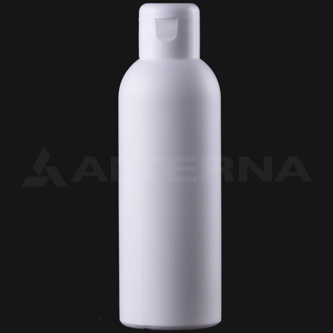 150 ml HDPE Bottle with 24 mm Flip Top Cap