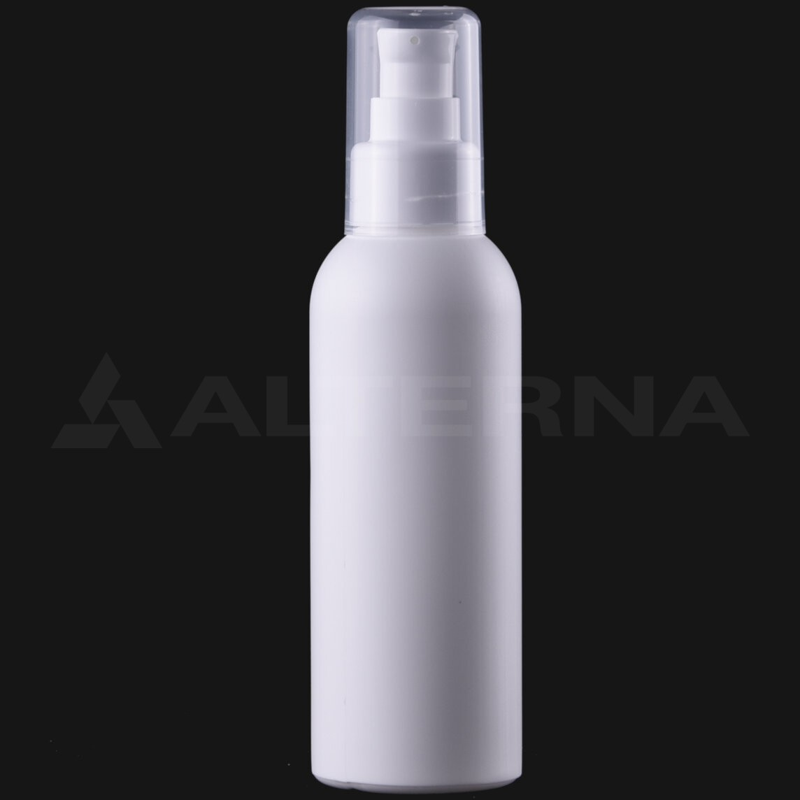 150 ml HDPE Bottle with 24 mm Lotion Pump
