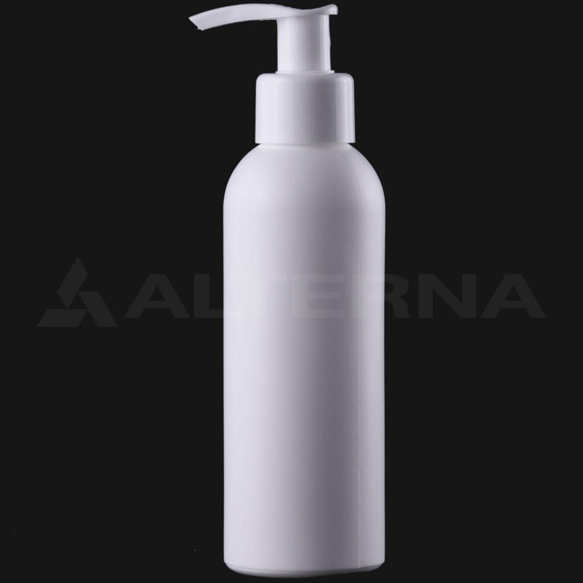 150 ml HDPE Bottle with 24 mm Pump Dispenser
