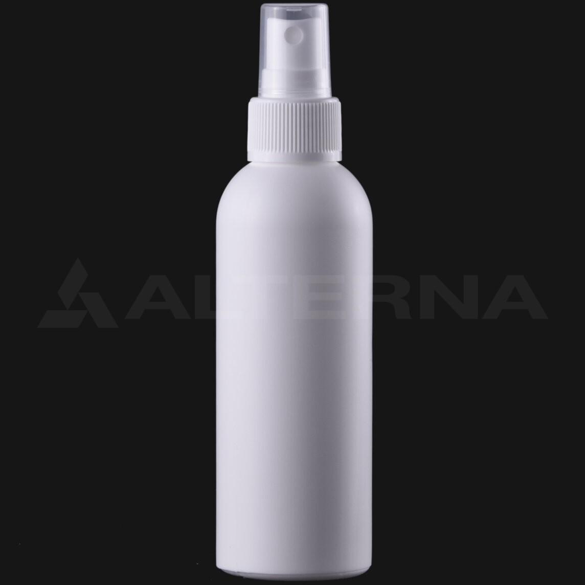 150 ml HDPE Bottle with 24 mm Sprayer