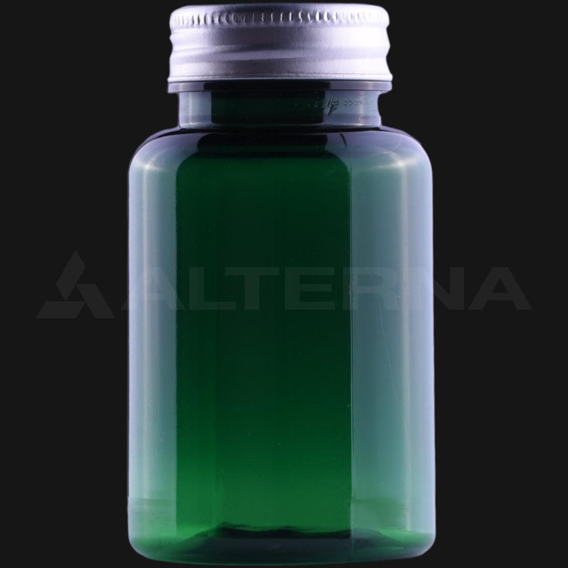 150 ml PET Pill Bottle with 38 mm Aluminum Cap