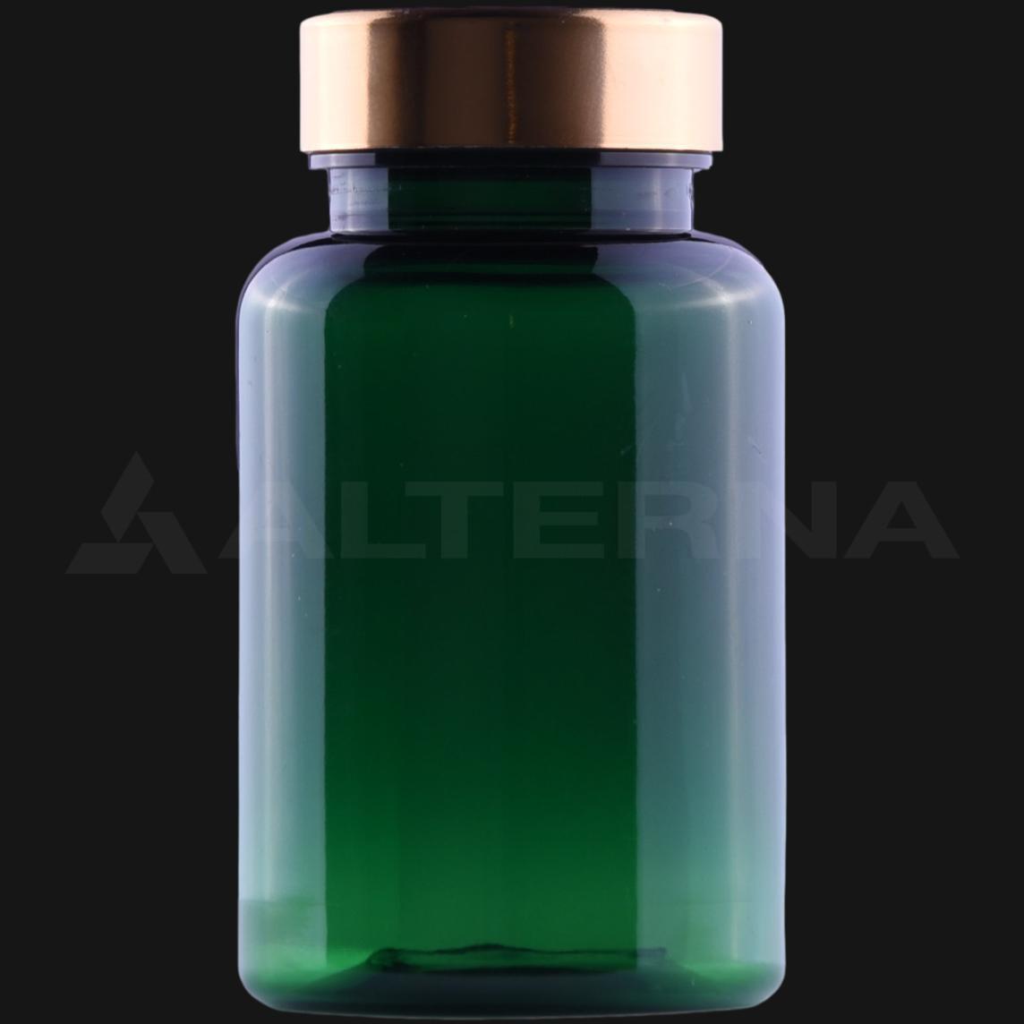 150 ml PET Pill Bottle with 38 mm Metal Cap