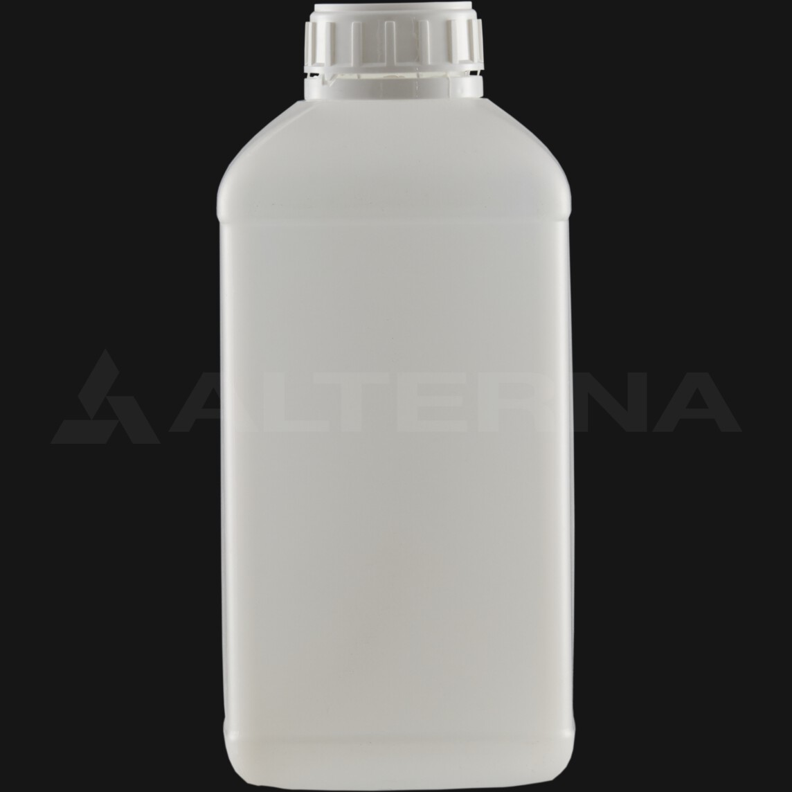 2000 ml HDPE Square Bottle with 50 mm Foam Seal Secure Cap