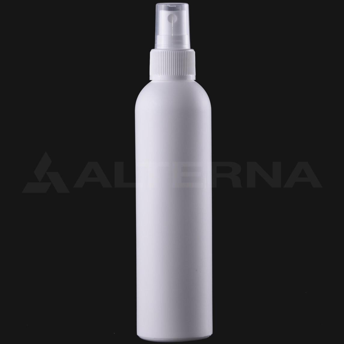 200 ml HDPE Bottle with 24 mm Sprayer