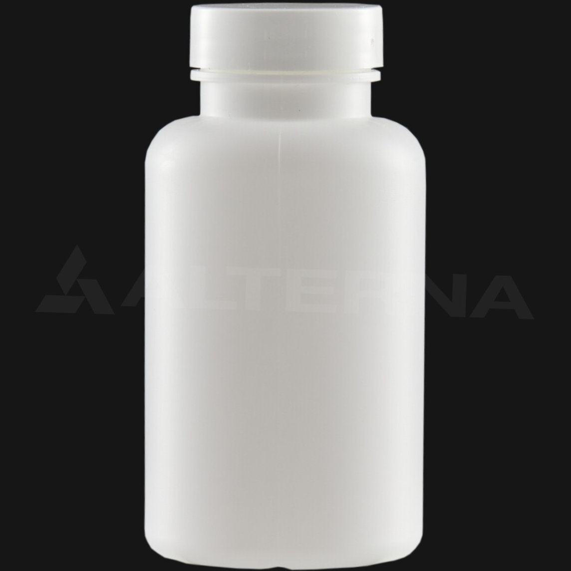 200 ml HDPE Pill Bottle with 38 mm Alu. Foil Seal Cap