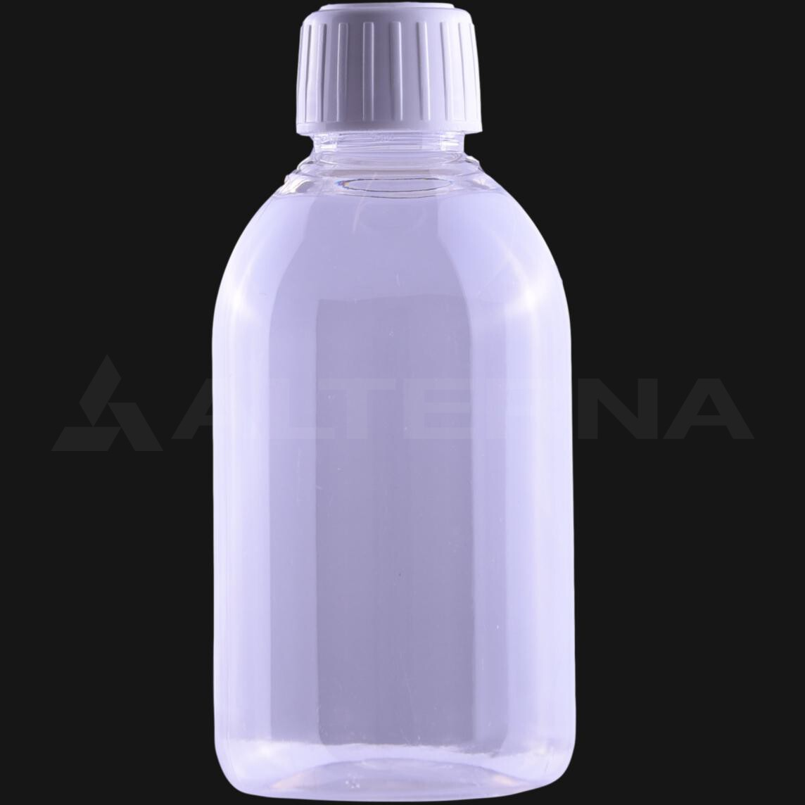 200 ml PET Pharma Bottle with 25 mm Tamper Evident Cap