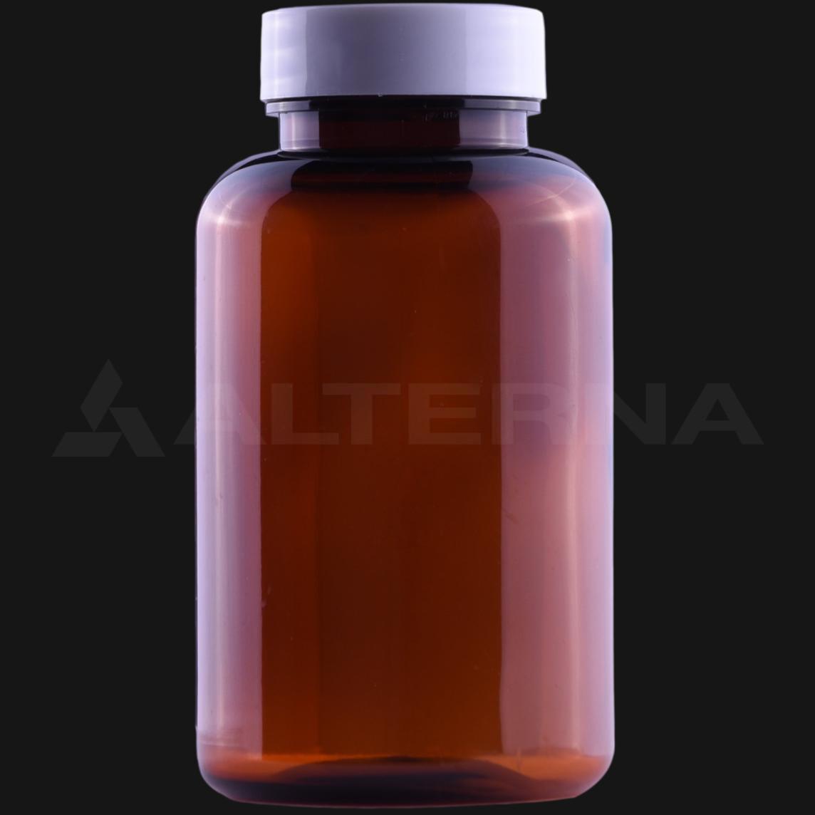 200 ml PET Pill Bottle with 38 mm Alu. Foil Seal Cap