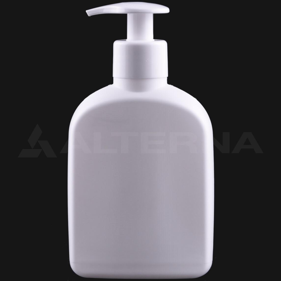 225 ml HDPE Bottle with 28 mm Pump Dispenser