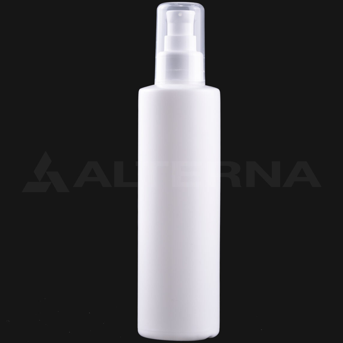 250 ml HDPE Bottle with 24 mm Lotion Pump