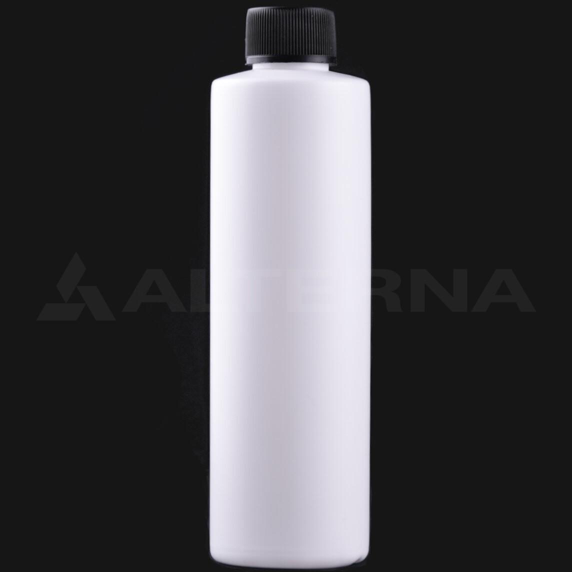250 ml HDPE Bottle with 24 mm Foam Seal Cap