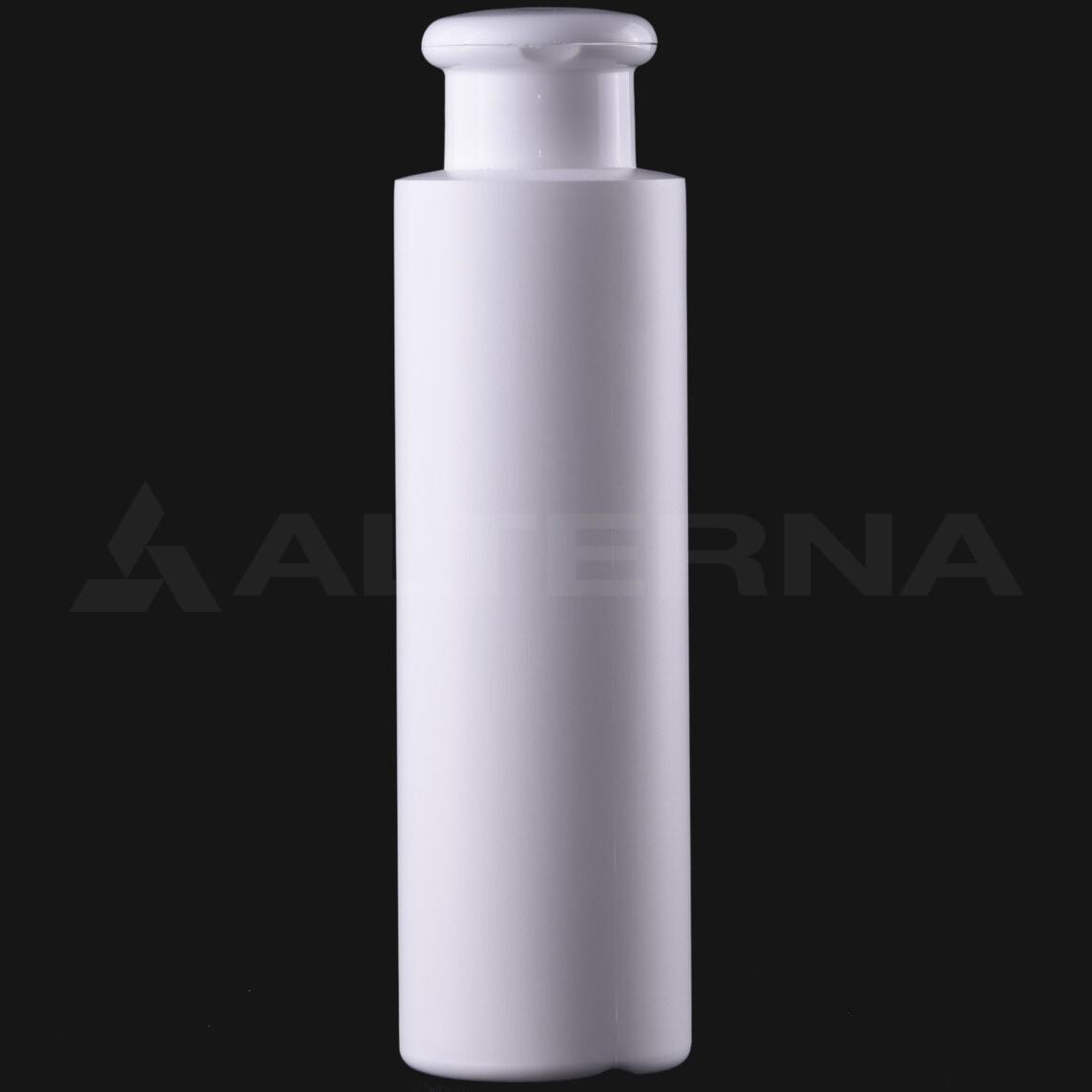 250 ml HDPE Bottle with 28 mm Flip Top Cap