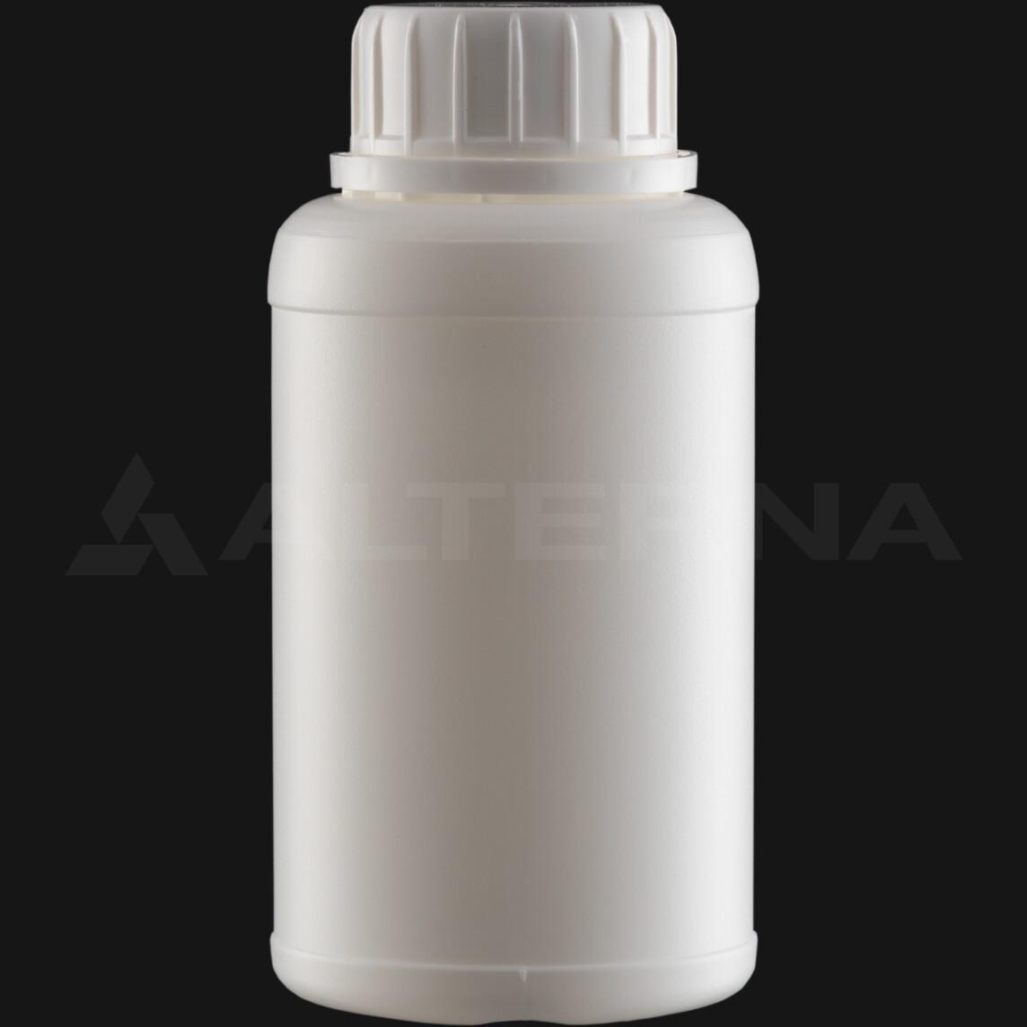 250 ml HDPE Bottle with 38 mm Foam Seal Secure Cap