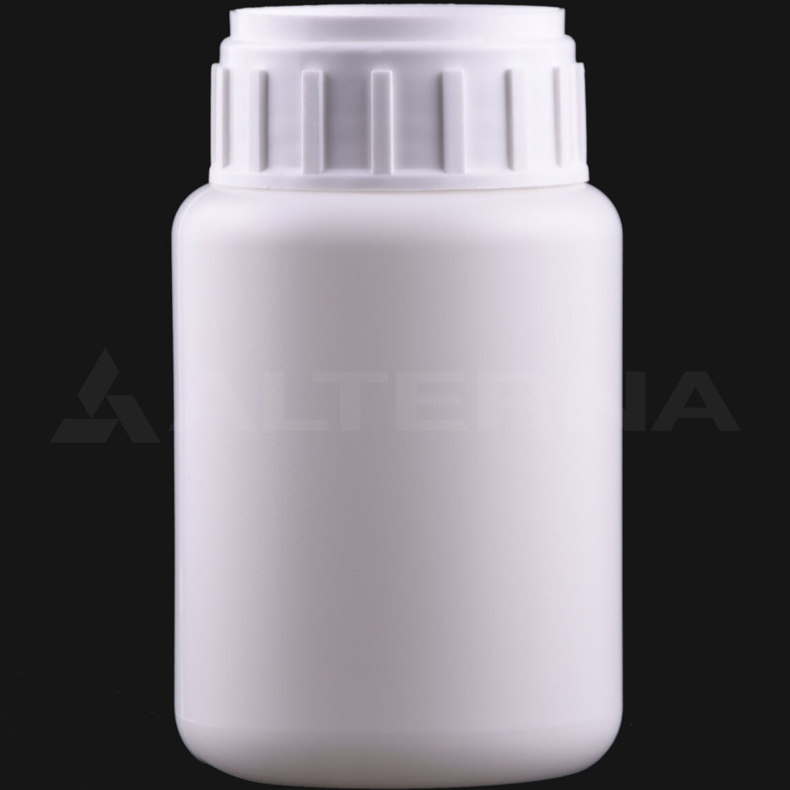 250 ml HDPE Bottle with 50 mm Alu. Foil Seal Cap