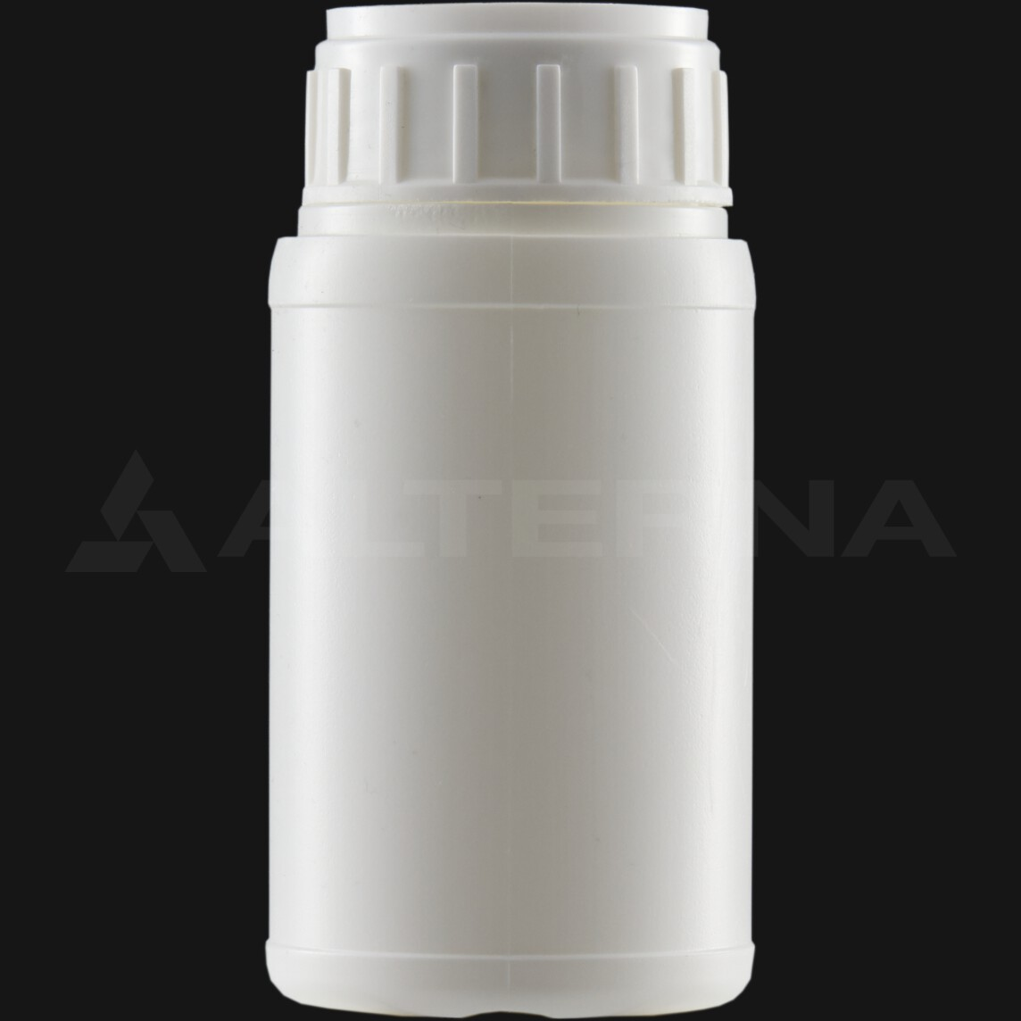 250 ml HDPE Bottle with 50 mm Alu. Foil Seal Vented Cap