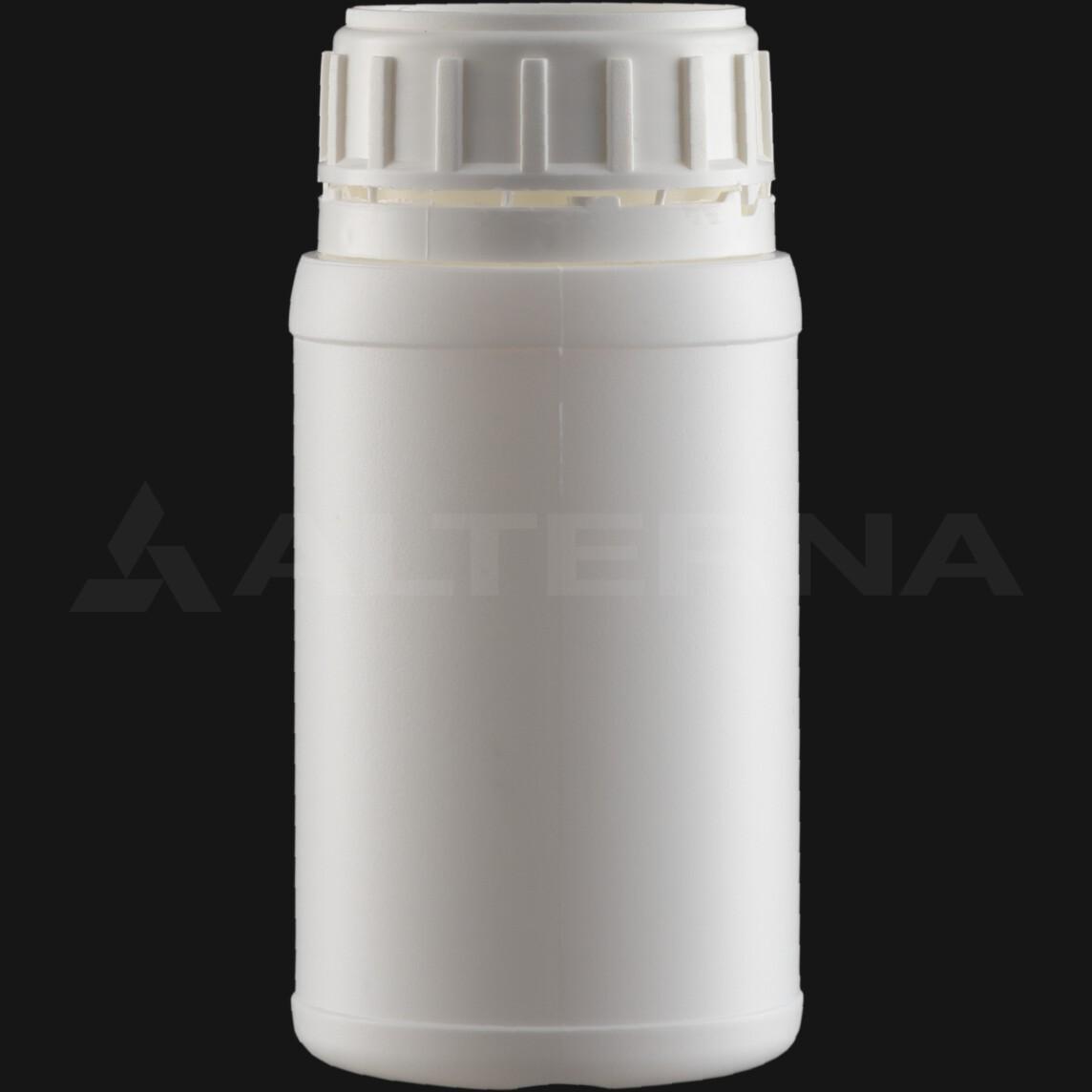 250 ml HDPE Bottle with 50 mm Foam Seal Secure Cap