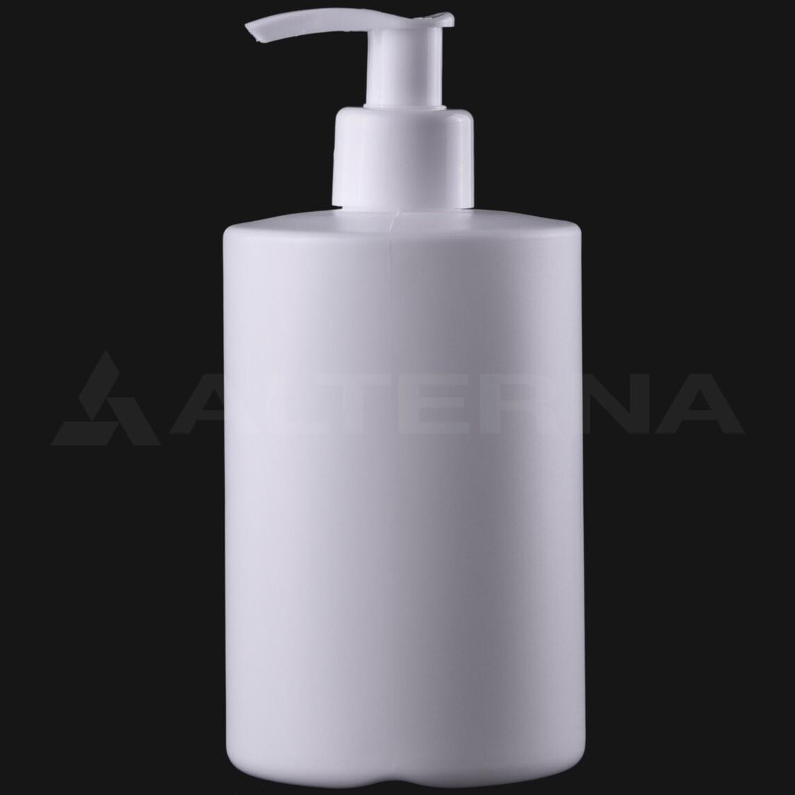 300 ml HDPE Bottle with 24 mm Pump Dispenser