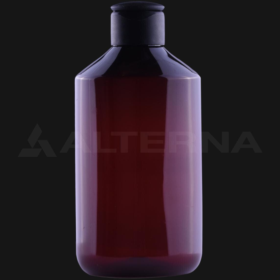 300 ml PET Bottle with 24 mm Flip Top Cap