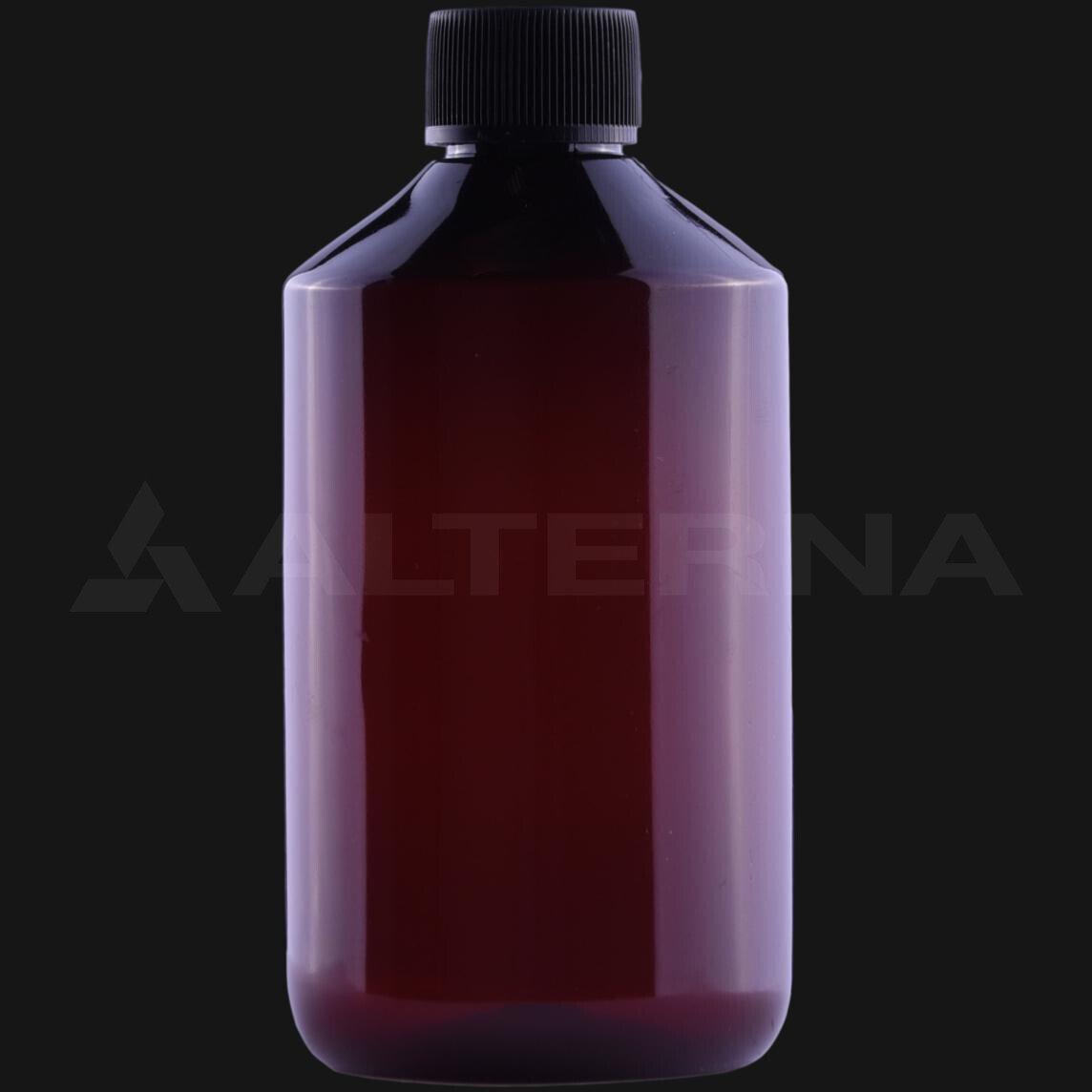 300 ml PET Bottle with 24 mm Foam Seal Cap