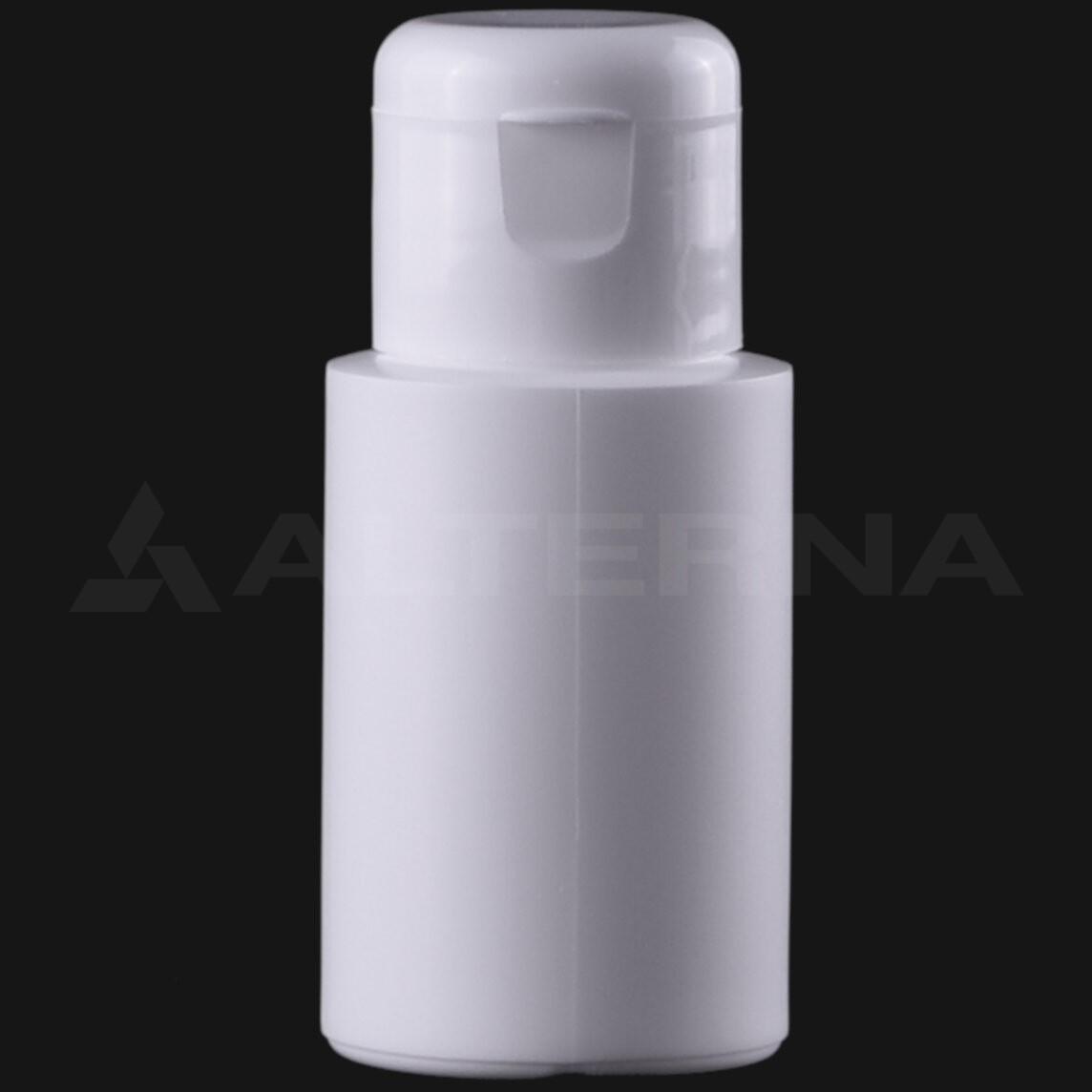 30 ml HDPE Bottle with 24 mm Flip Top Cap