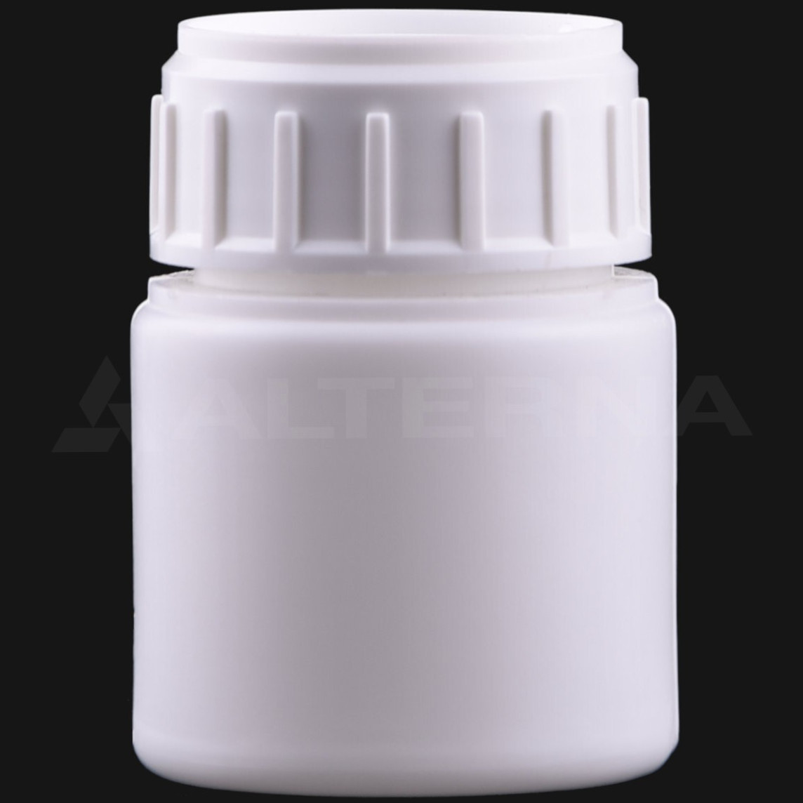 30 ml HDPE Bottle with 38 mm Alu. Foil Seal Cap