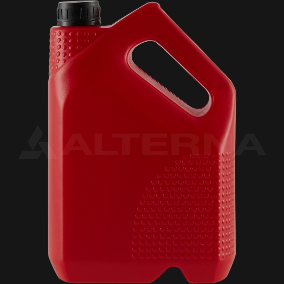3 Liter HDPE Motor Oil Jerry Can with 38 mm Alu. Seal Cap