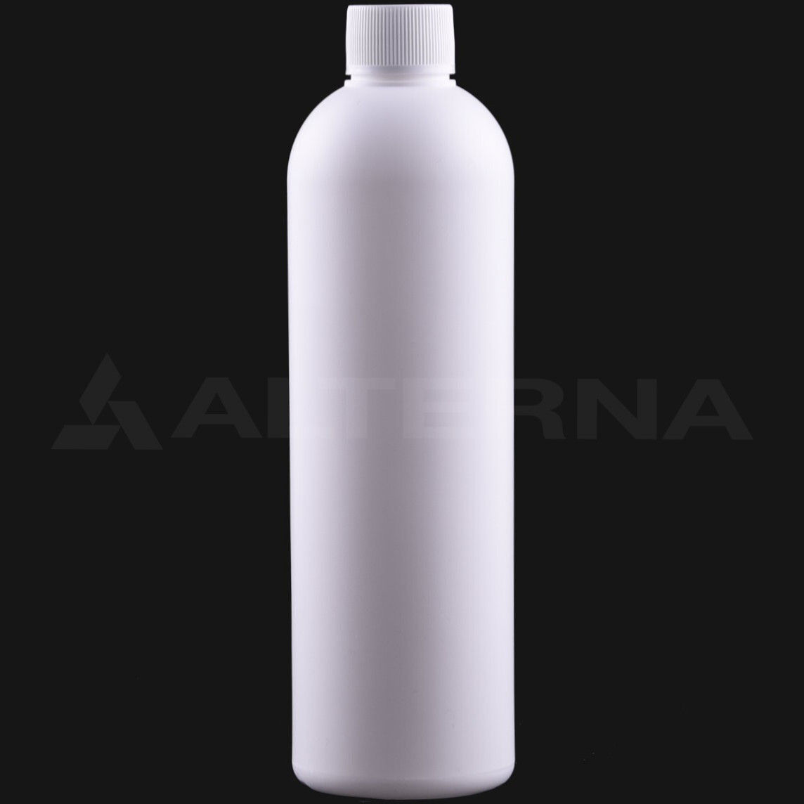 400 ml HDPE Bottle with 24 mm Foam Seal Cap