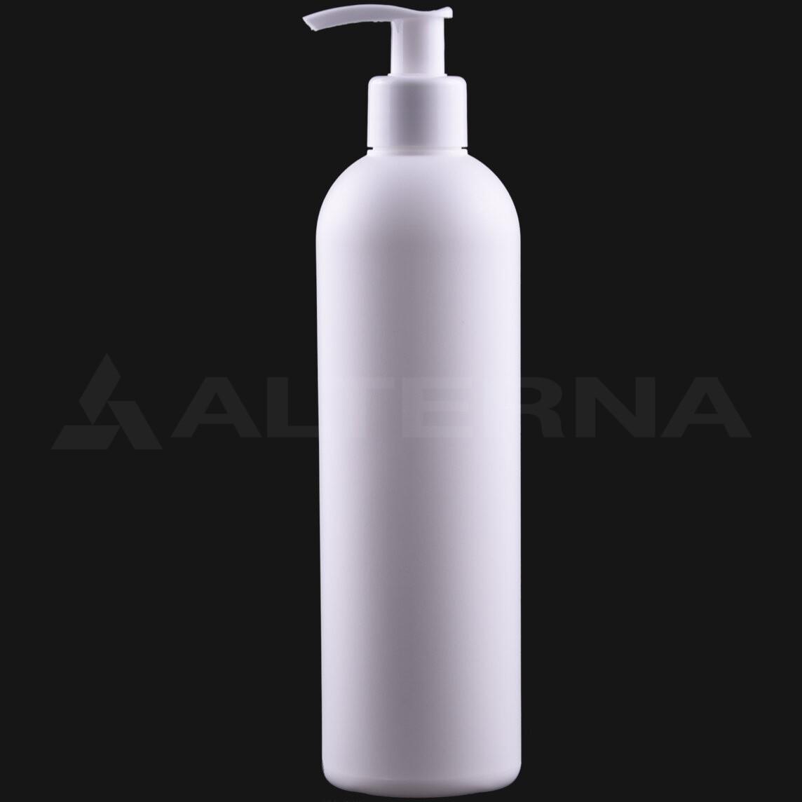 400 ml HDPE Bottle with 24 mm Pump Dispenser