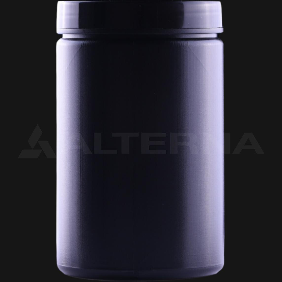 400 ml HDPE Jar with Black Cap