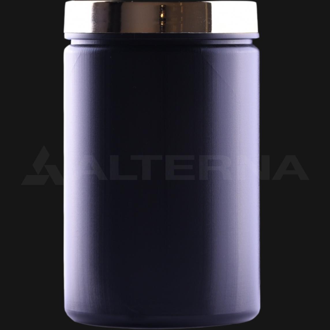 400 ml HDPE Jar with Gold Cap