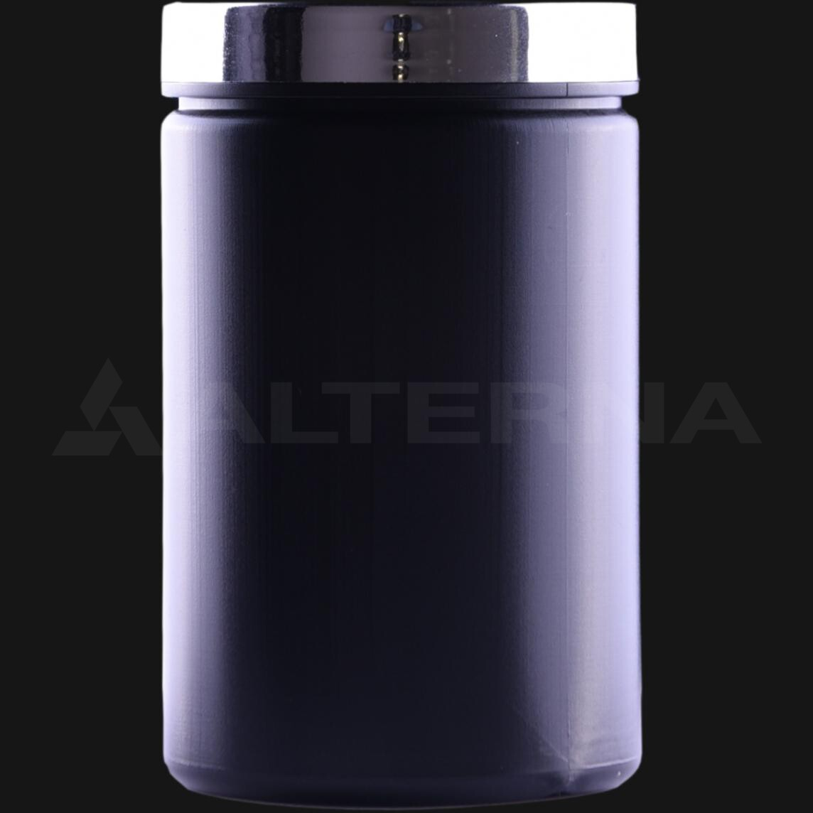 400 ml HDPE Jar with Silver Cap