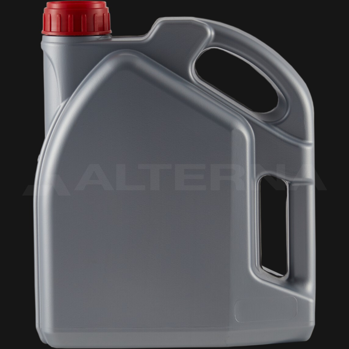 4 Liter HDPE Motor Oil Jerry Can with 50 mm Alu. Seal Cap