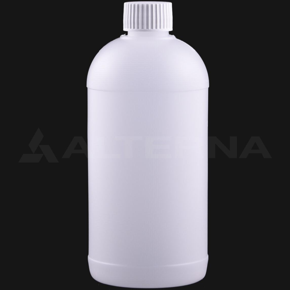 500 ml HDPE Bottle with 28 mm Foam Seal Cap