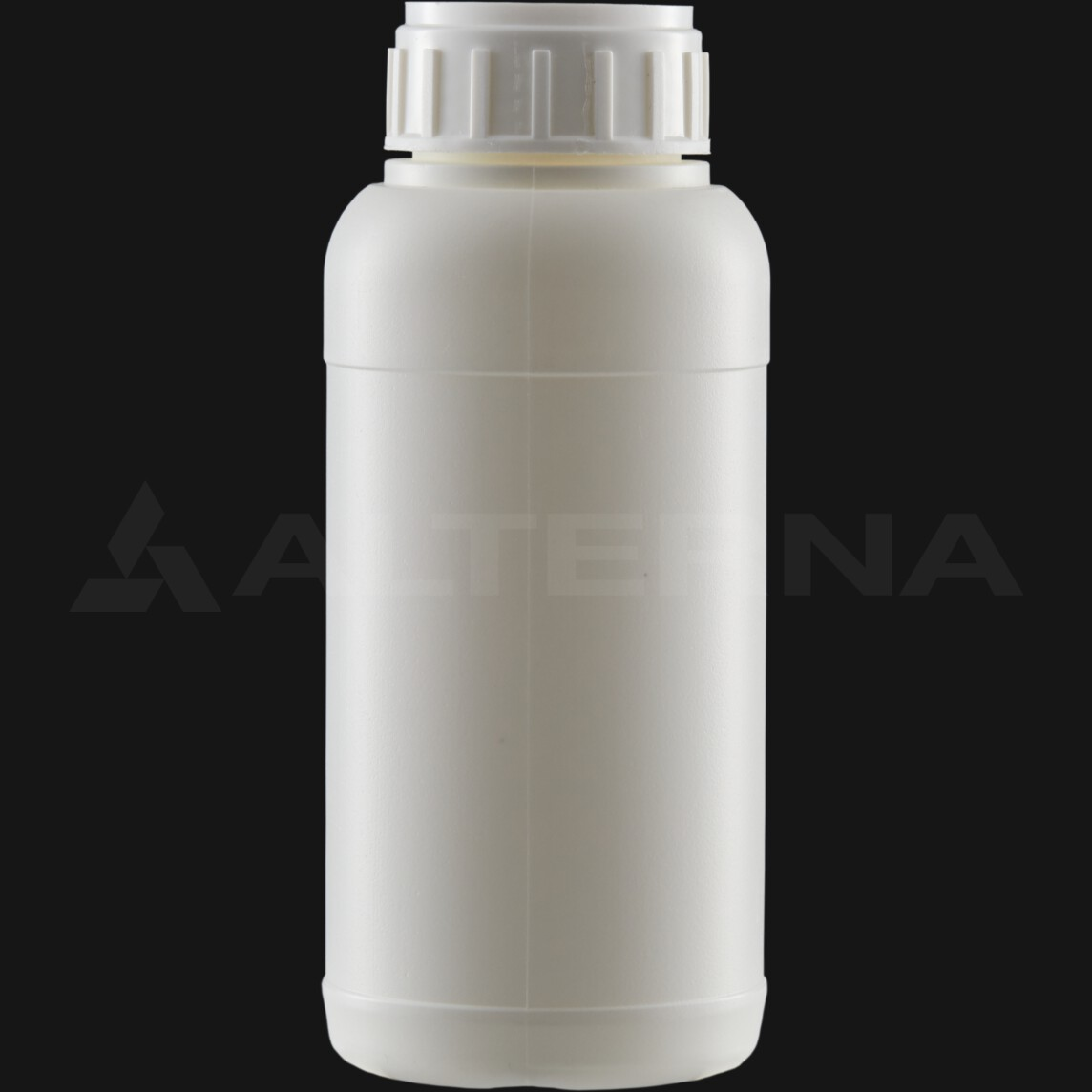 500 ml HDPE Bottle with 50 mm Alu. Foil Seal Vented Cap