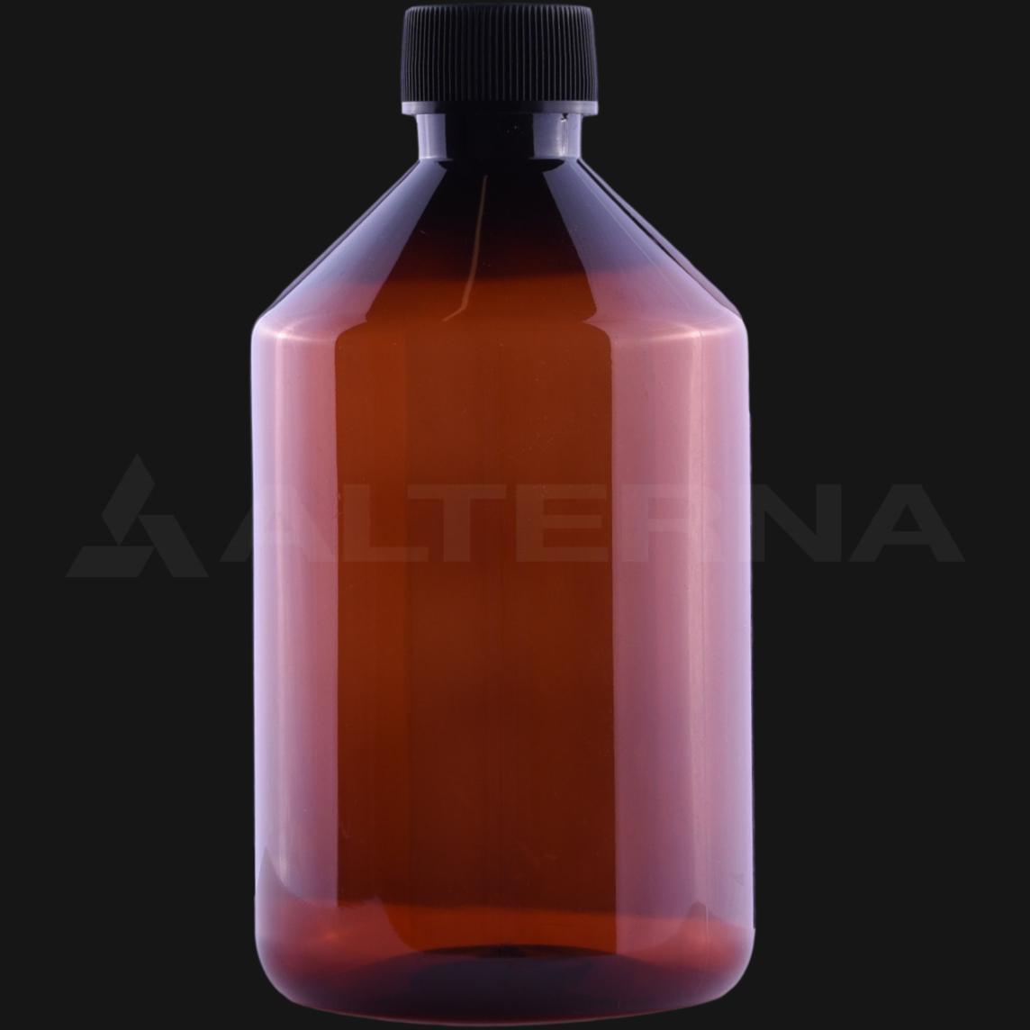 500 ml PET Bottle with 28 mm Foam Seal Cap